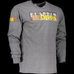 Gray-long-sleeve-screen-print-fndip-logo-w-hands