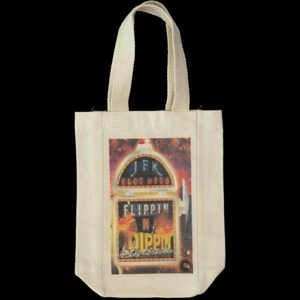 double- wine- tote bag